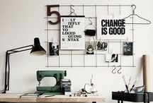 design WORKSPACE / Well organized workspace is very important. Great design of this place is what we like!