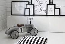 Black & Grey kidsroom