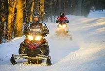 Snowmobile Adventures / With so much snow and Northern Territory in Canada, it's no wonder we are a snowmobile enthusiasts favourite playground. Here are a few of our favourite snowmobile backroad adventures for full detailed maps on where to find the best snowmobile trails in your area visit backroadmapbooks.com
