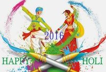Holi Wallpapers / Happy Holi Wallpapers with colorful attachments and holi wishing texts with lots of love on Holi 2016
