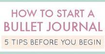 Bullet journal / Bullet journal, planner, ideas.