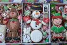 Decorated Christmas Cookies / by Nancy Bivins