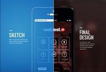Mobile UI We Love / A collection of our favorite mobile UI/UX designs from around the web.