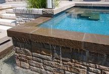 Alka Pool - Finer Details / Having trouble getting ideas for your swimming pool design?  Look no further than these beautiful finer details that we put together.  Still stuck?  Check out our portfolio at www.alkapool.com/portfolio/