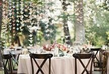 Spring Wedding Themes / Wedding ideas for your Spring inspired wedding! Decorations, flowers, gowns, hairstyles and cakes.