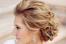 Bridal Hair and Accessories / Bridal hair styles - long and short, and accessories.