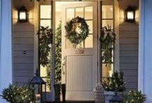 Holiday Garage Door Decorating And More / This is all about Christmas decorating and beautiful things that we have put together http://www.phoenixazgaragedoorrepair.com/