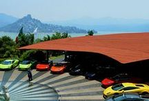 Dream Garages / Garages we could only dream about.  But you know what?  Someone owns it.