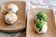 SUSHI Recipes / 季節の食材を使って華やかに盛りつけたお寿司レシピ