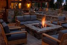 Fire Pits / Firepits!!!!  I love them, do you??  I love pinning too.