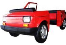 Cabrio Car Bar Fiat 126p / Cabrio Car Bar  Fiat 126p Pierwszy na Świecie KabrioBar klasy 126p . Wykonany całkowicie z laminatu epoksydowego. Elementy i akcesoria są oryginalne.