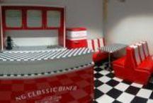 New American Diner style / New American Diner style