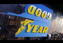 Advertisement for Goodyear / Advertisement for Goodyear