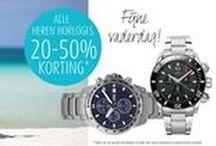 Sale! / De sale is van start gegaan bij Siebel Juweliers, je profiteert nu van kortingen tot 70%!