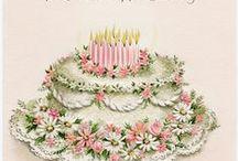 Verjaardag wensen e.d.