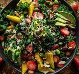Rezepte mit Salat | Recipies with Salad ♥ / Köstliche Salatrezepte / delicious salads