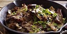 Fleisch | Meat and Beef / Rezepte mit Fleisch