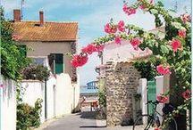 Au fil des villages / L'île de Ré, c'est dix villages de Charme, Rivedoux-Plage, Sainte-Marie de Ré, La Flotte en Ré, Saint-Martin de Ré, Le Bois-Plage, La Couarde, Loix en Ré, Ars en Ré, Saint-Clément des Baleines et Les Portes en Ré.