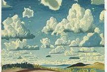 Skies / Fine Art Paintings, Atmospheric scenes, Photography