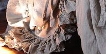 Linen bedding / Linen bedding, linen pilowcases, pure linen bedding,Housewares, Bedroom,  Duvet  Housewares,  bedroom  bedding , shabby chic , linen  duvet , duvet cover linen , bedding ruffles , pure linen bedding , white linen , pleated  linen duvet , linen pillows , ruffles pillow case ,Long fastening ties