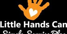Little Hands In Action / Our little hands are making a difference, and we want to inspire you to make a difference, too! For more information, visit us at http://littlehandscan.org/serve