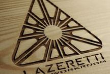 LAZERETTI-Art workroom / Laser cutting and engraving.