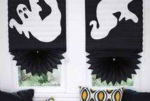Halloween Decor / It's a spooky time of year! It's Halloween! From goblins to ghosts, witches to black cats, find the latest Halloween decorations here.