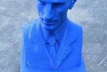 3d-printing, models ready / 3d-prints from my Rostock Delta-printer.
