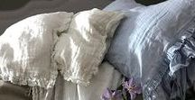 Gorgeous Linen Bedding / linen shabby chick bedding,  linen duvet cover, Linen bedding, linen pillowcases, pure linen bedding, Bedroom , bedroom  bedding , shabby chic , linen  duvet , duvet cover linen , bedding ruffles , pure linen bedding , white linen , pleated  linen duvet , linen pillows , ruffles pillow case , Long fastening ties