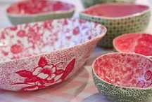 Pottery / beautiful urns, vases and platters