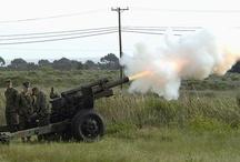 Cañones artillería