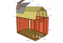 Building a garden shed / Step by step projects about building a garden shed. A detailed list of different types of sheds and storage constructions.