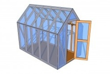 Greenhouse Plans Free / A large collection of free greenhouse plans. This boards covers all the types of greenhouses, starting with lean to constructions up to complex ones.