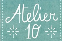 Atelier10 / Atelier 10. Italian Art, Handmade & Vintage is a group designed to promote the collaboration in the fields of art, handmade & vintage.