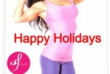 Holiday Season Health Tips curated by Shefit High Impact, Supportive Sports Bra / Tips for a healthier holiday season: A celebration in pictures of aspiration, dedication, gratitude, family, food, health and beauty for the holidays. The Shefit high impact, supportive sports bra is ideal for any woman who has struggled with excessive bounce or back or shoulder strain.  Our exclusive patented Lock and Rock™ technology was smartly designed to give women the ability to securely adjust both the straps and the band for the most personalized and comfortable fit.