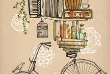 Bicycle art/craft / by LindieLou
