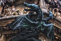 Dragons & Gargoyles / by Erika Adams