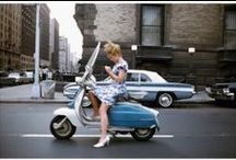 Scooters / My love of scooters / by Michael D'Agostino Mackenzie