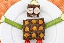 Kid-friendly food / Who says you shouldn't play with your food?