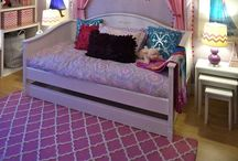 Princess Bedroom - Frozen bedroom / Disney's Frozen princess bedroom design