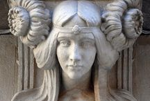 Art Deco , Art Nouveau / 20's & 30's, Art Deco, art nouveau, past art movements