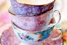 Tea Time / Tea, teacups,lightbrunches,coffee