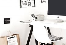 Office | Workspace / Styling inspiration for your office / workspace
