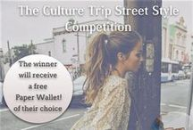 The Culture Trip Street Style Competition / Follow us and pin your favorite urban street style looks to this board for the chance to win a free Paper Wallet!  / by The Culture Trip