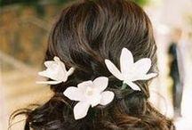 Hairstyles / wedding hairstyles & hair