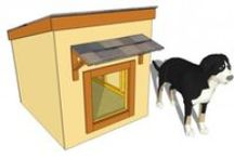 Free Dog House Plans / Easy to follow plans for building a dog house. If you want to learn how to build an insulated dog house, a double dog house or a small dog house, take a look over the instructions.