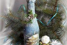 dekoráció: üveg