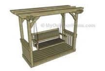 Garden Arbor Plans / Easy to follow plans for you to build a garden arbor - Free garden arbor plans