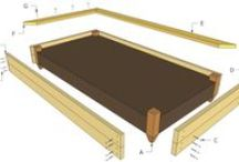 Raised Garden Bed Plans / Easy to follow plans for you to build a raised garden bed - Free raised garden bed plans