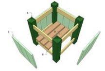 Outdoor Planter Plans / Easy to follow plans for you to build an outdoor planter - Free garden planter plans